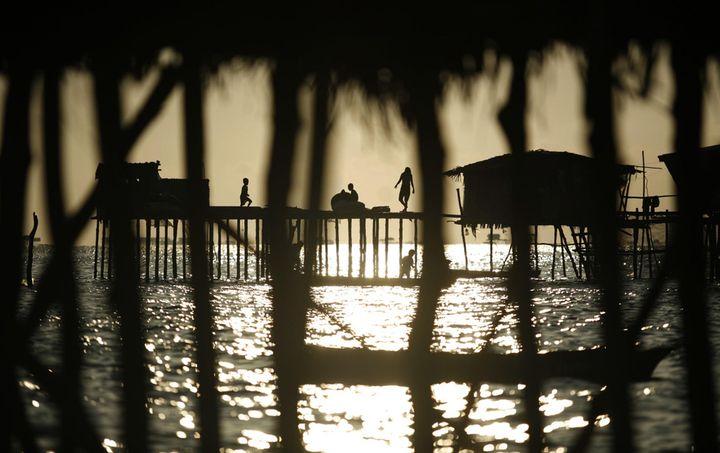 Морские цыгане Малайзии (10 фото)